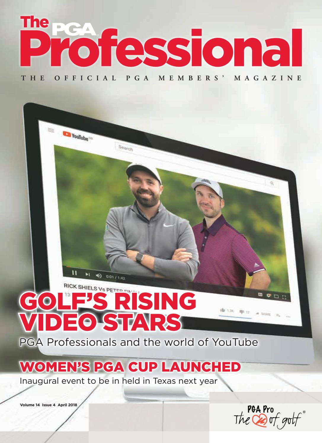 Pga Members Magazine April 2018 By The Issuu Battery Level Indicator Circuit Youtube