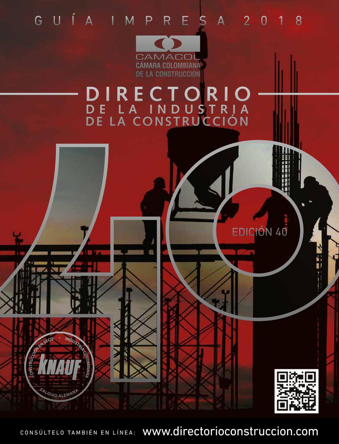 Directorio de la Industria de la Cosntrucción by Ana Marcela Duque - issuu b823f43cfa90