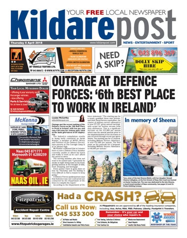 2a5dc6f2c9 Kildare post 05 04 2018 by River Media Newspapers - issuu