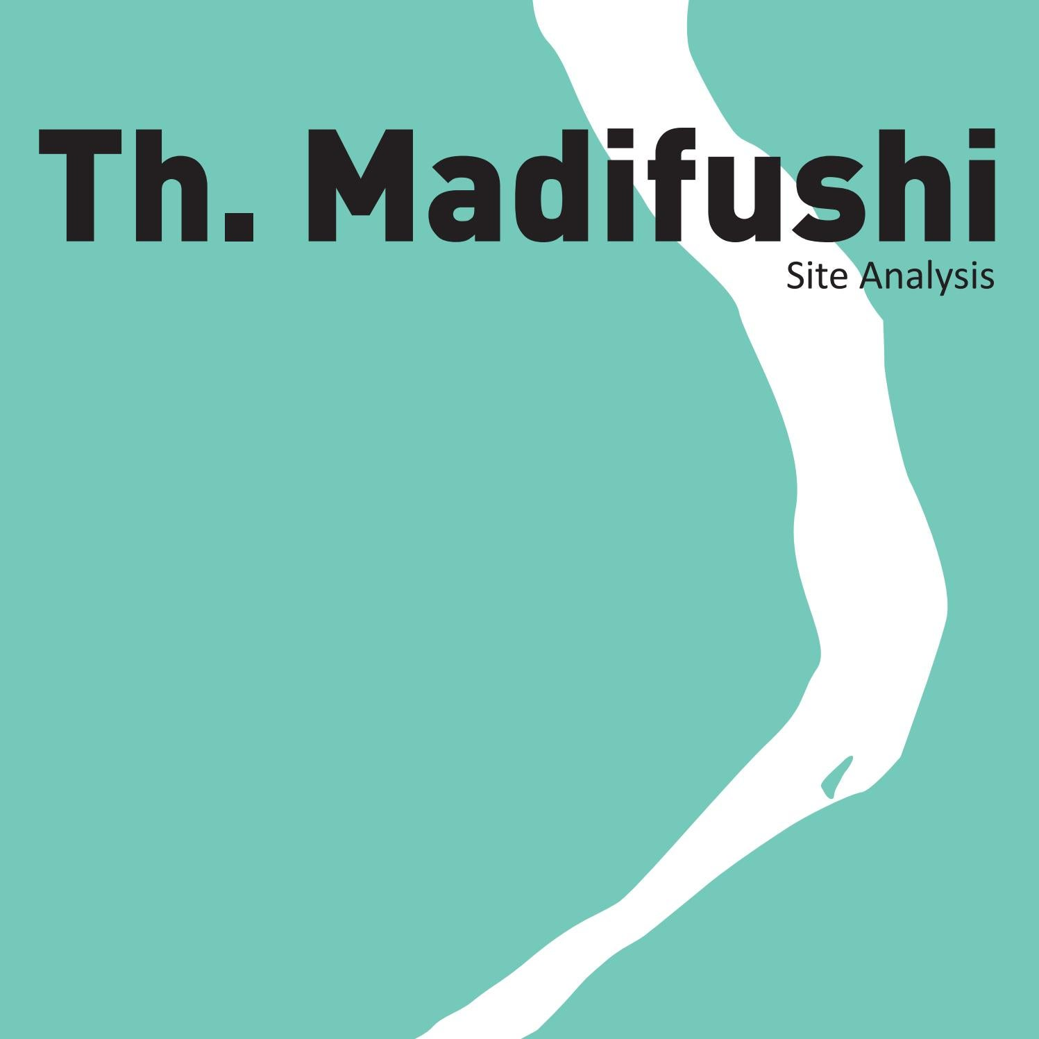 Th. Madifushi Site Analysis By Faculty Of Engineering