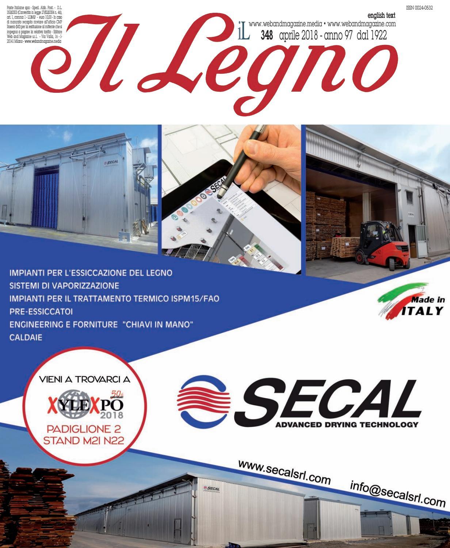 Falegnameria Puppo Campo Ligure 348_illegno_2018 by web and magazine s.r.l. - issuu