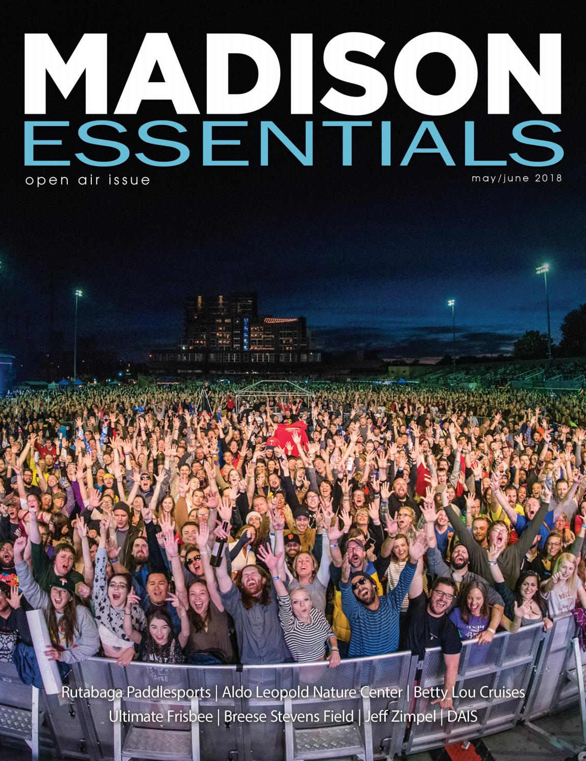 Madison Essentials MayJune 2018 by Towns