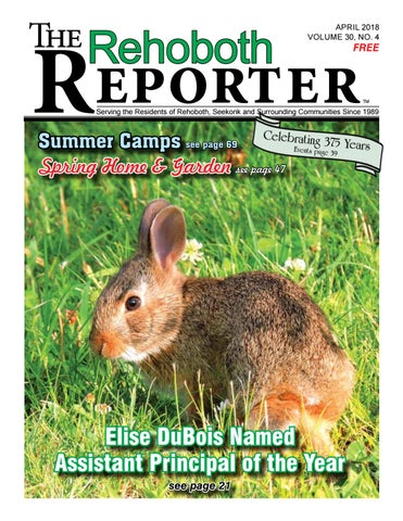April 2018 Rehoboth Reporter By Dick Georgia Issuu