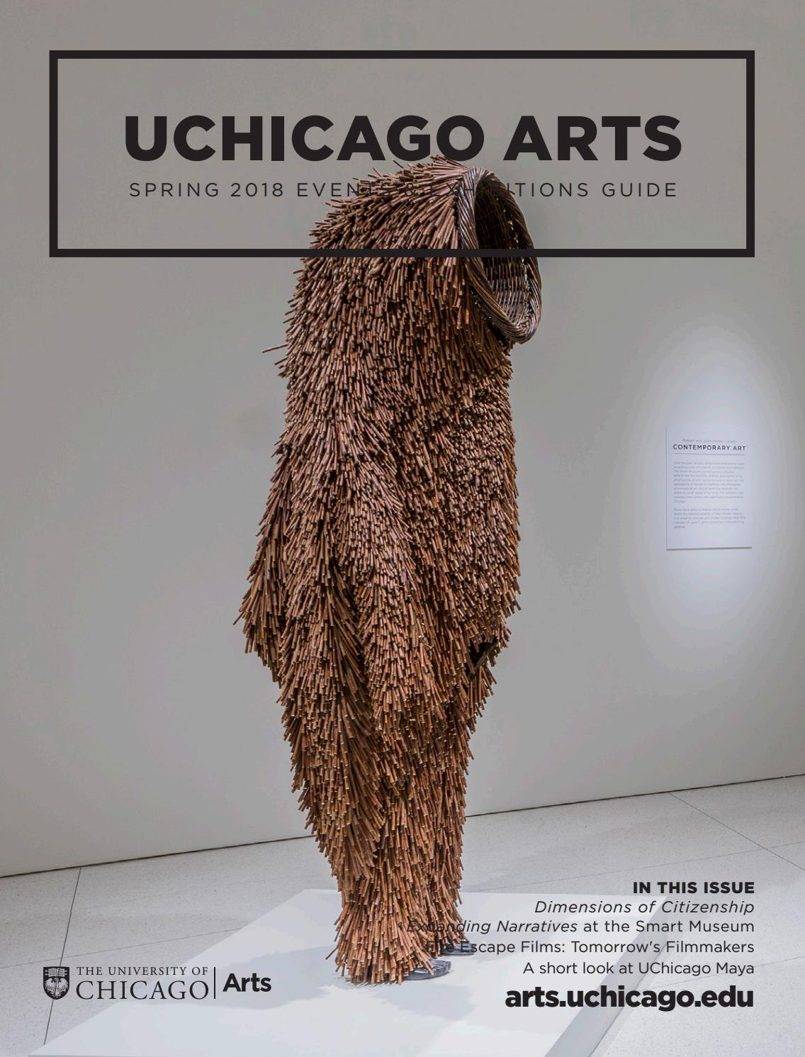2018 Spring Arts Guide by UChicagoArts - issuu