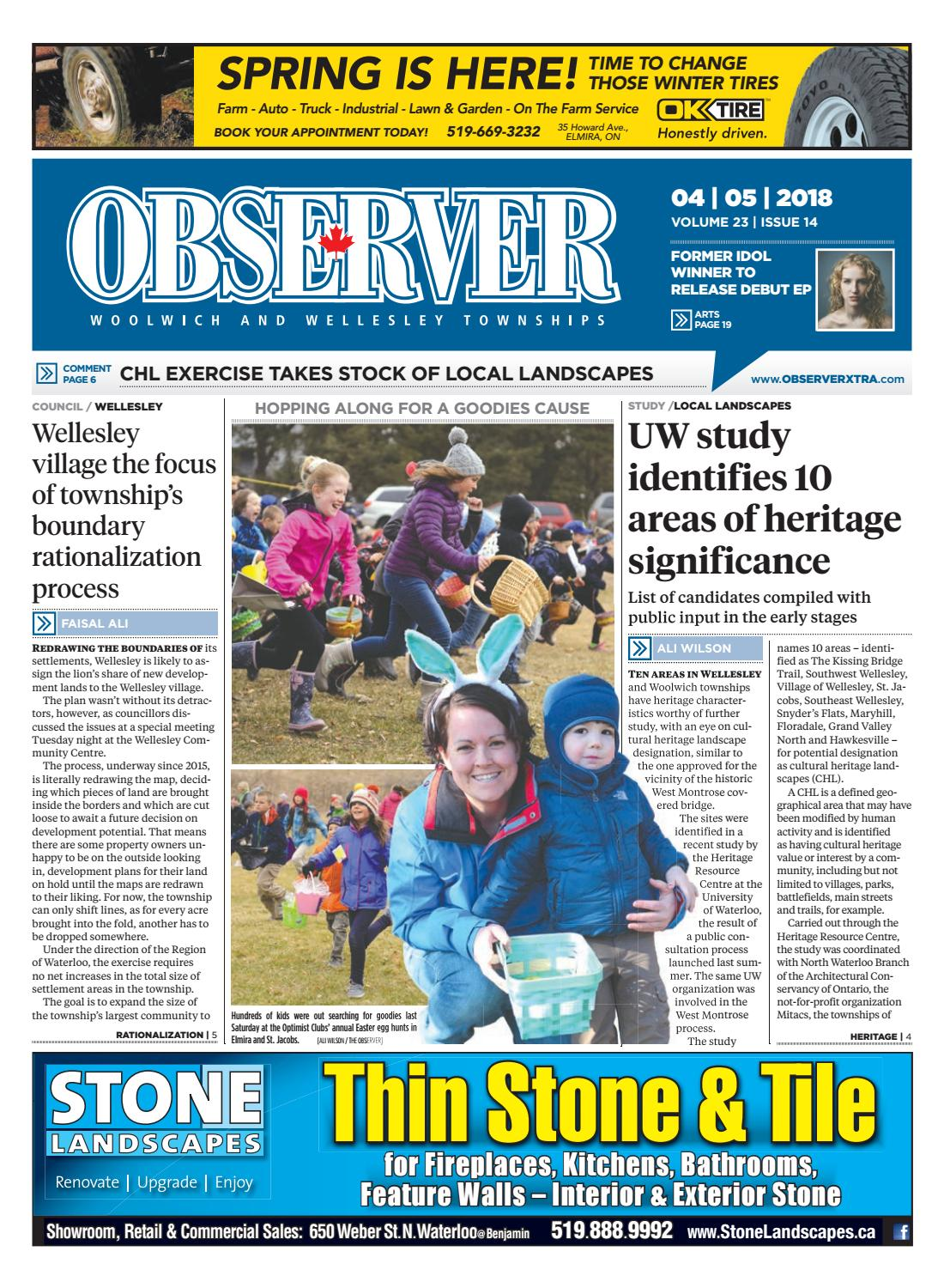 April 5, 2018 by Woolwich Observer - issuu