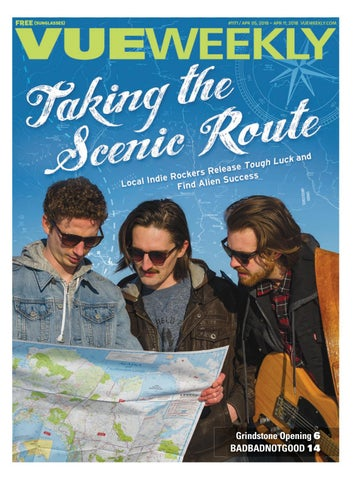 1171: Taking the Scenic Route by Vue Weekly - issuu