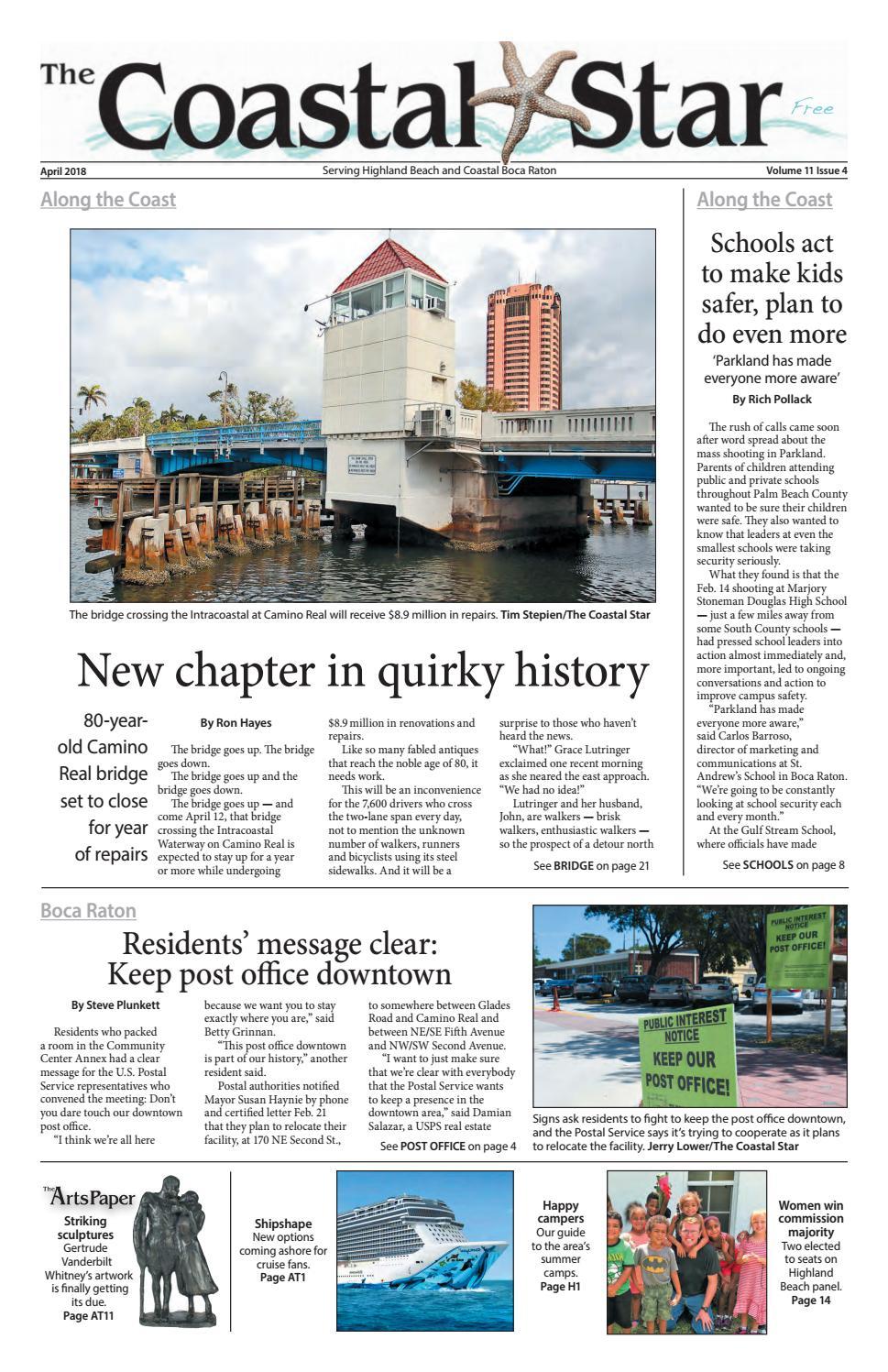 The Coastal Star April 2018 Boca by The Coastal Star - issuu