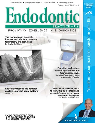 Endodontic Practice US Spring 2018 Vol 11 No 1 by MedMark