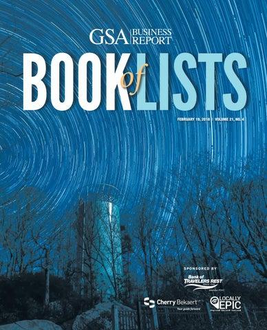 4231b976930da 2018 GSA Book of Lists by SC BIZ News - issuu