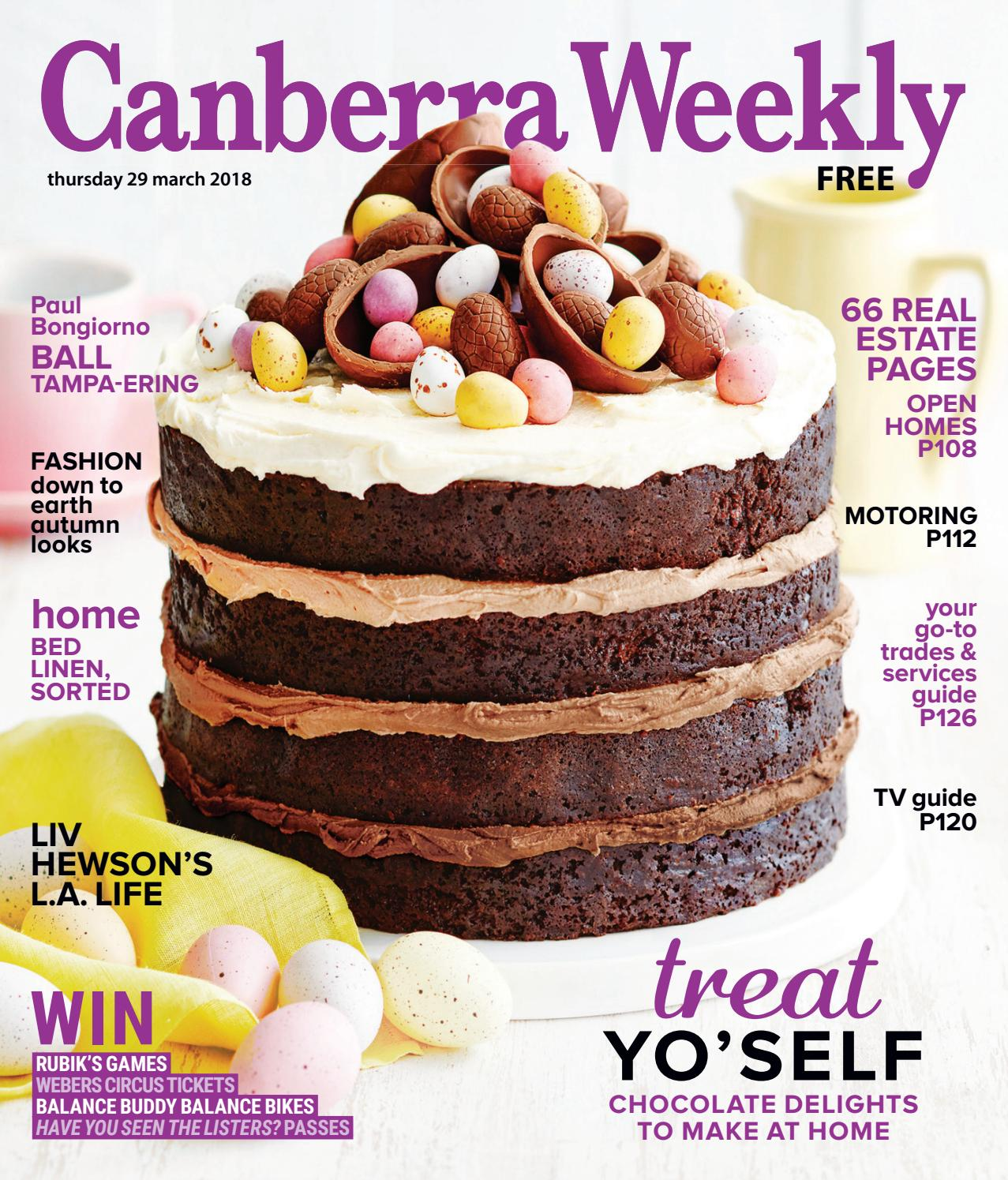 29 March 2018 By Canberra Weekly Magazine Issuu Andrew Smith Brown Jeans Cokelat 33