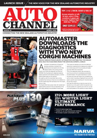Auto Channel Issue #1 by Parkside Media - issuu