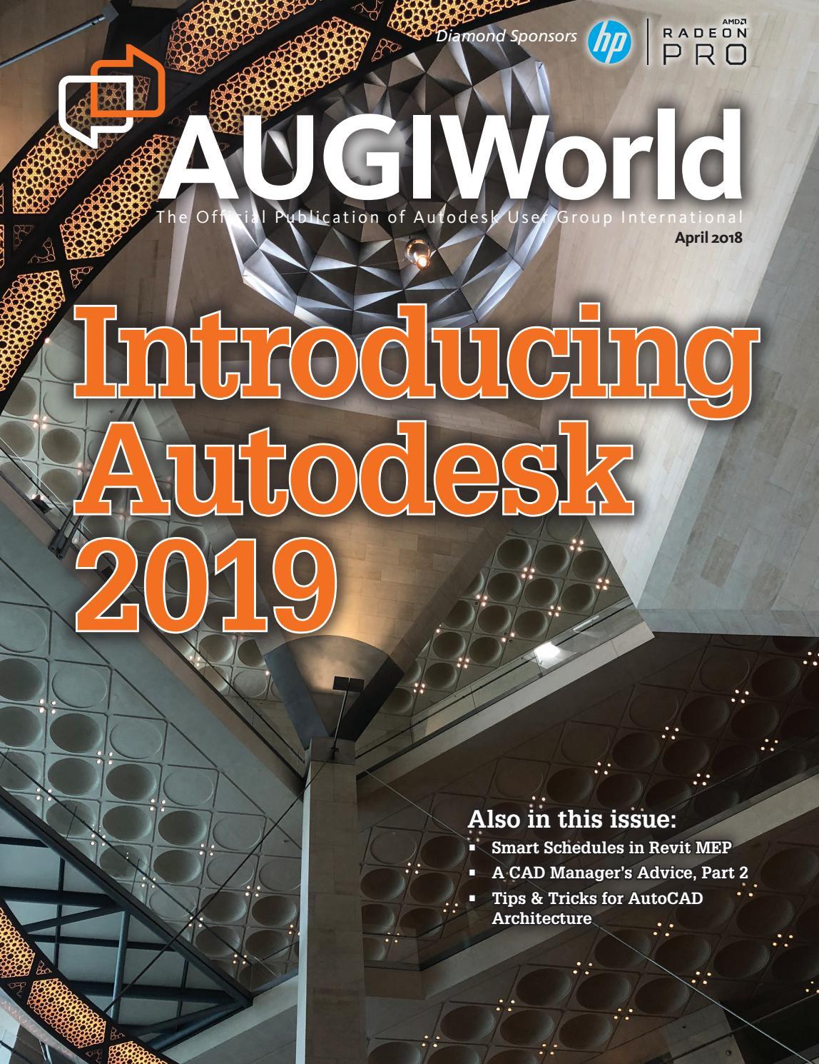AUGIWorld by Autodesk User Group International, Inc. - issuu