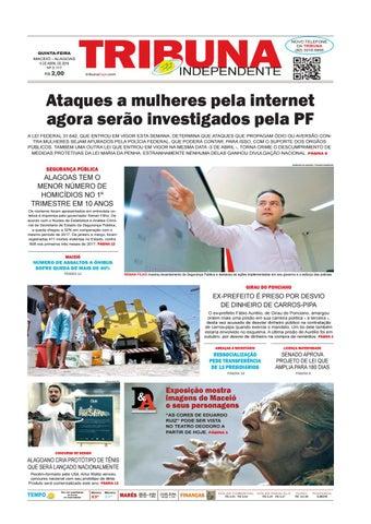c87e648c20 Edição número 3117 - 5 de abril de 2018 by Tribuna Hoje - issuu