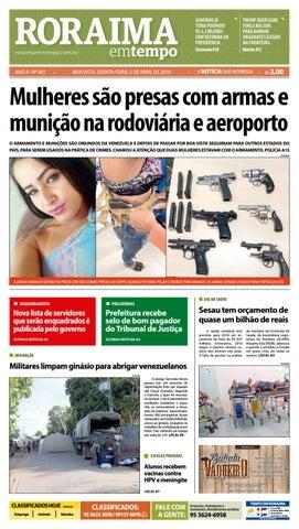 8d27033111 Jornal roraima em tempo – edição 901 by RoraimaEmTempo - issuu