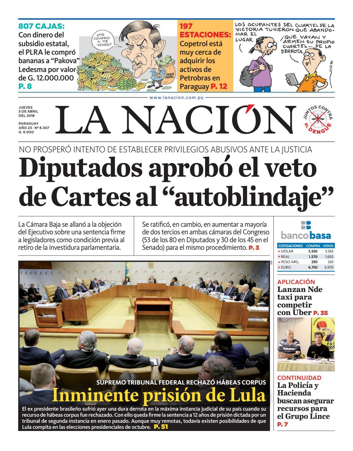 DIARIO LA NACIÓN - EDICIÓN 8.307 by La Nación - issuu