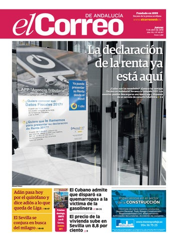 89de7840d5e3 05.04.2018 El Correo de Andalucía by EL CORREO DE ANDALUCÍA S.L. - issuu