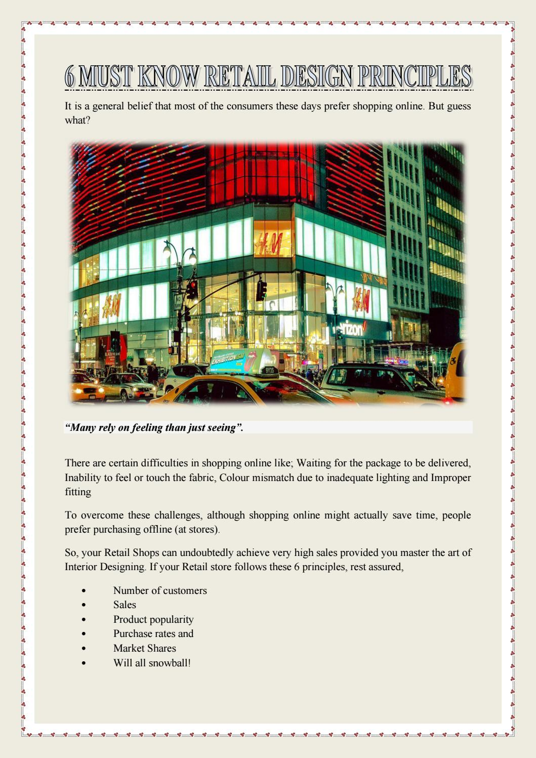 6 Must Know Retail Design Principles By Hts Interior Design Llc Issuu