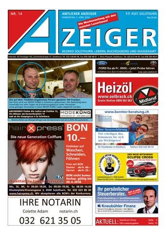 Azeiger 14 2018 By Az Anzeiger Issuu