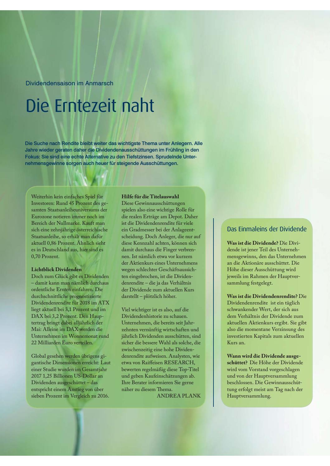 PRIVAT BANK - Magazin Chancen. Risken. by Raiffeisen Oberoesterreich ...