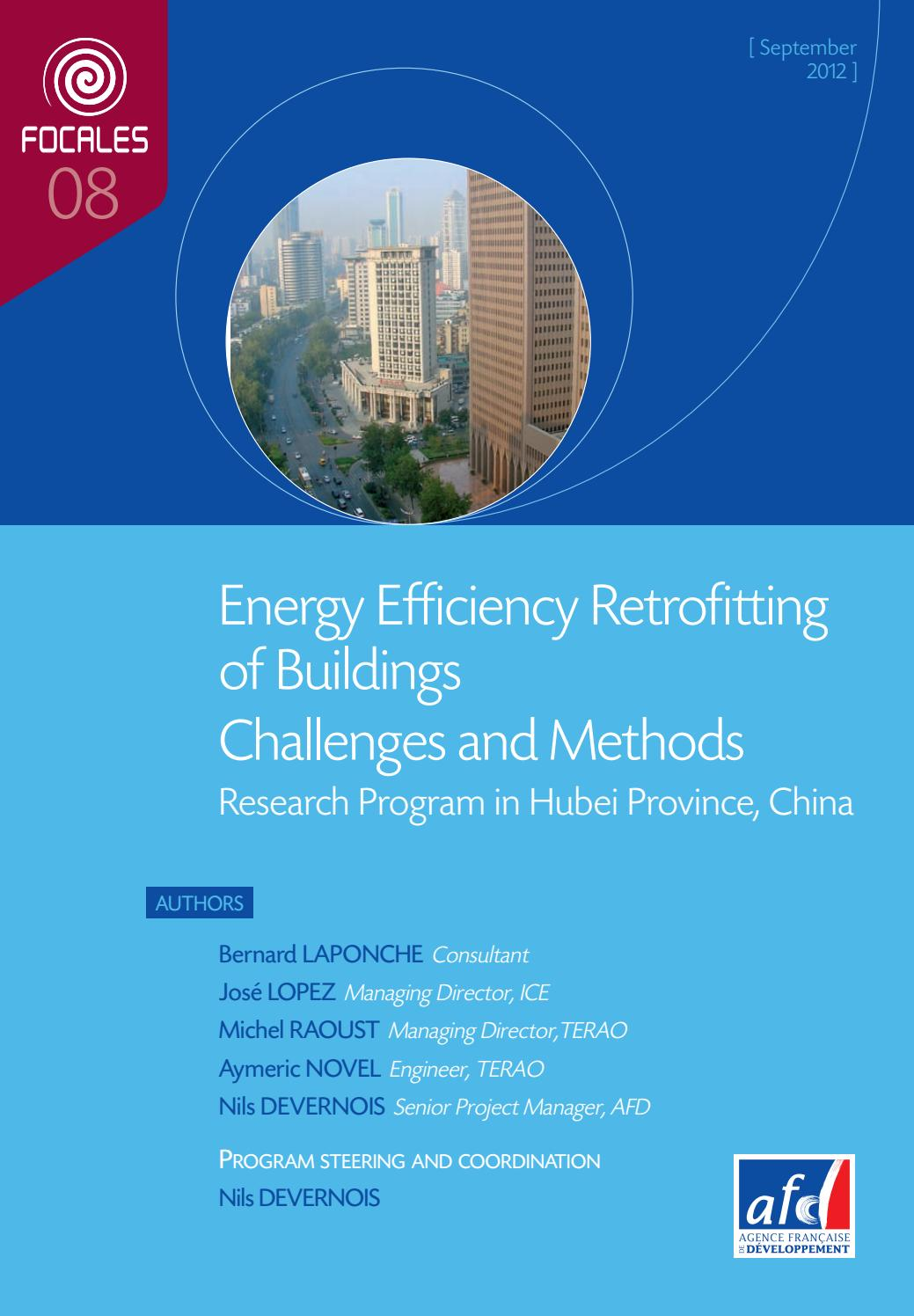 Energy Efficiency Retrofitting of Buildings Challenges and