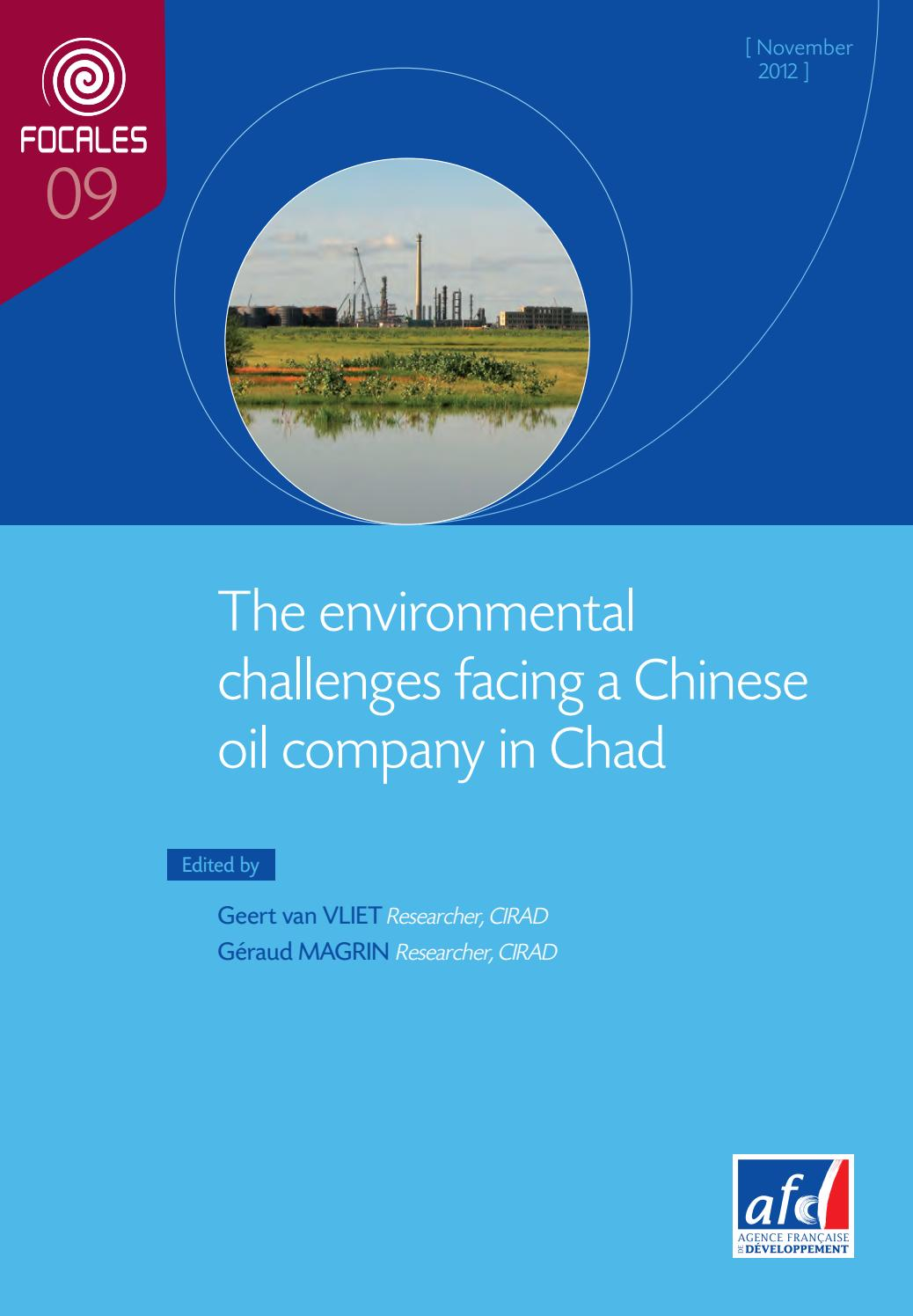 The Environmental Challenges Faced By A Chinese Oil Company
