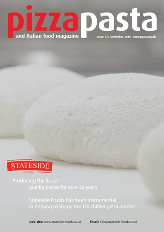 Pizza Pasta Italian Food Issue 171 By Jandmgroup Issuu