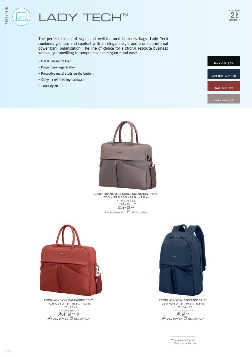 Samsonite liikelahjat 2018 by Mediawear issuu