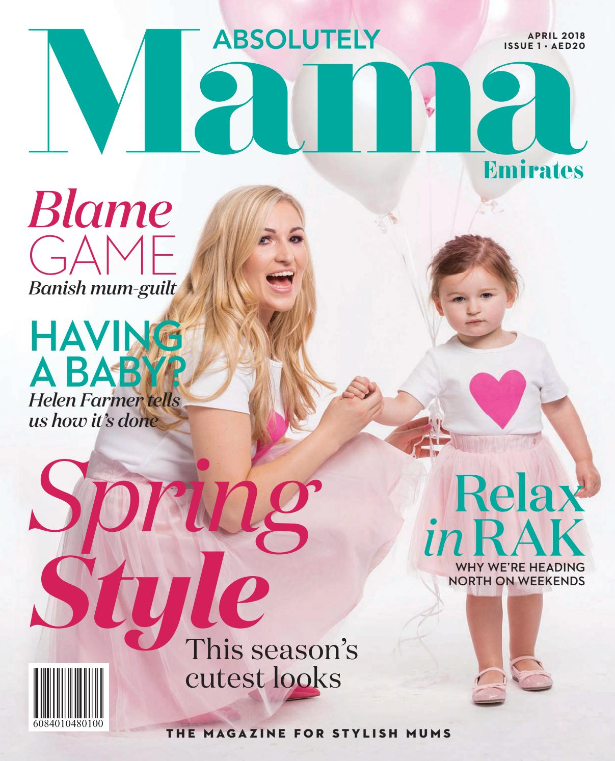 Absolutely Mama Emirates Issue One 2018 By Zest Media London Issuu Dreamgenii Pregnancy And Feeding Support Pillow 933928