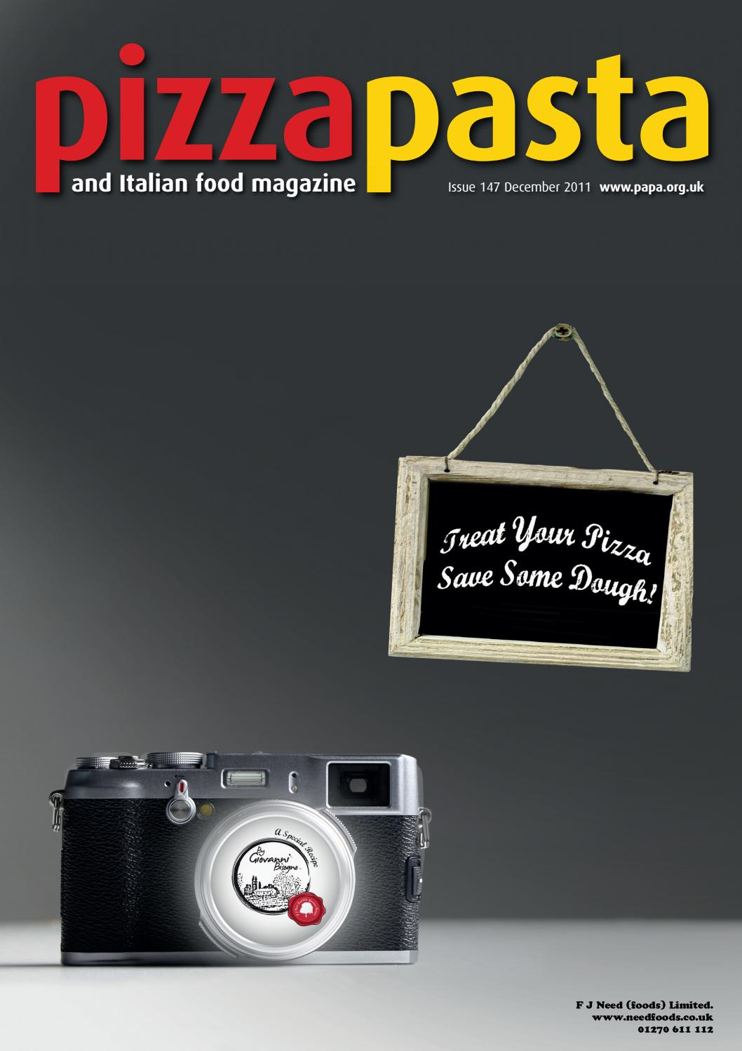 Pizza Pasta Italian Food Issue 147 By Jandmgroup Issuu