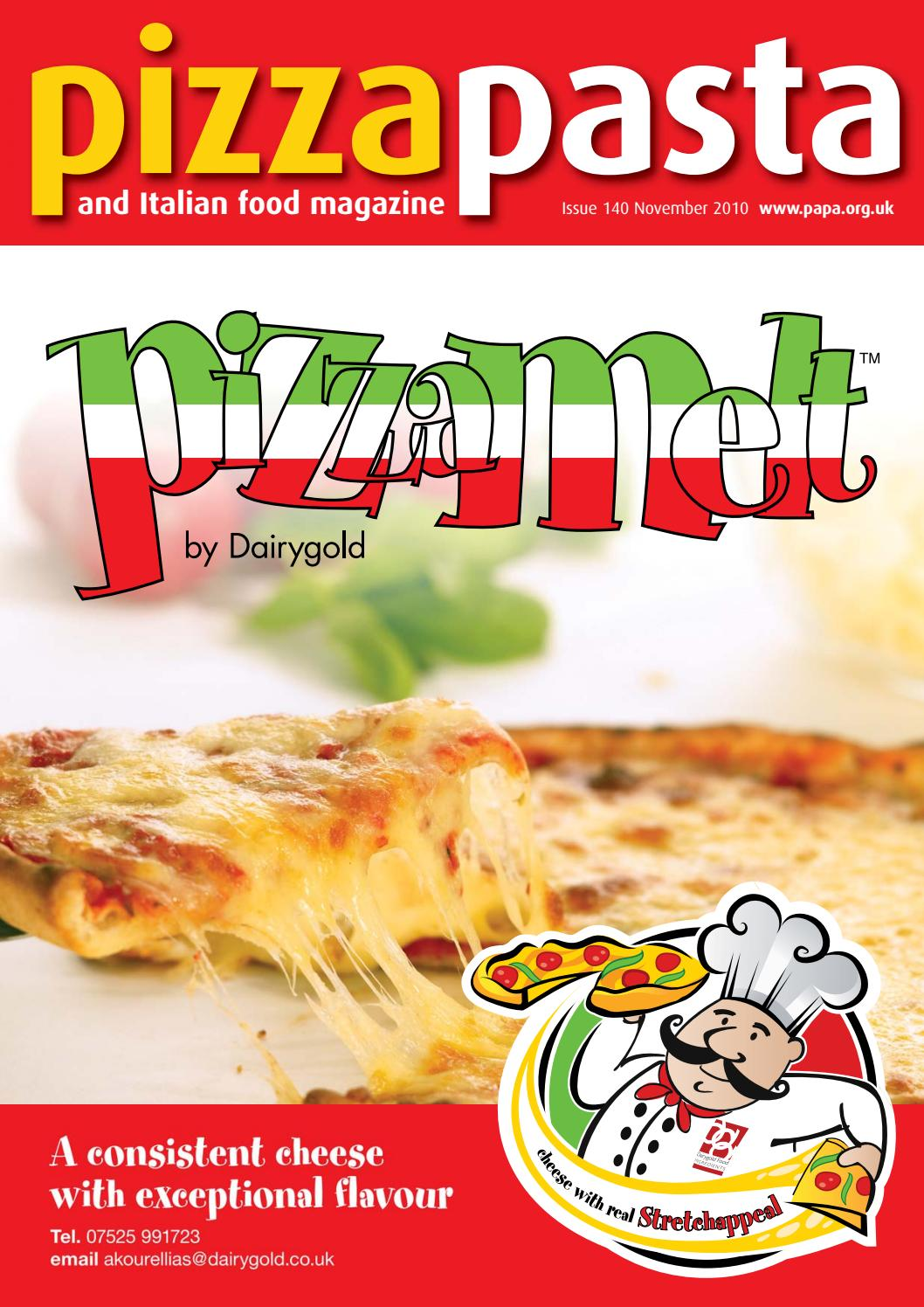 Pizza Pasta Italian Food Issue 140 By Jandmgroup Issuu