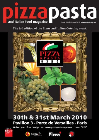 Pizza Pasta Italian Food Issue 136 By Jandmgroup Issuu