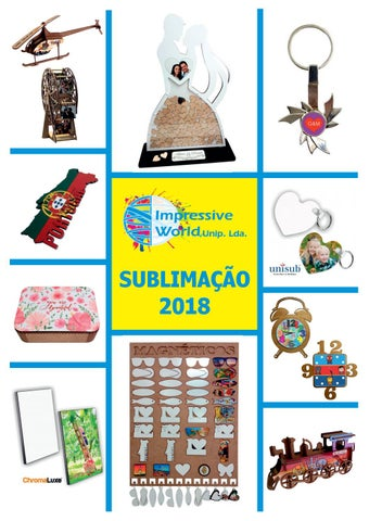 f9501370825 Catalogo sublimação impressive world 2018 by Por Akaso - issuu