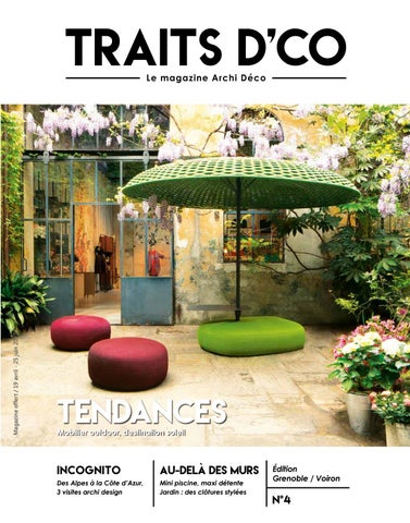 Traits Dco Magazine Grenoble Voiron N4 Avril 2018 By