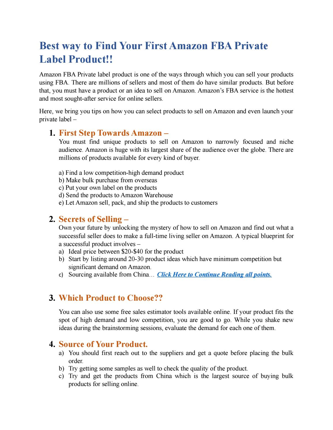 amazon free sales estimator