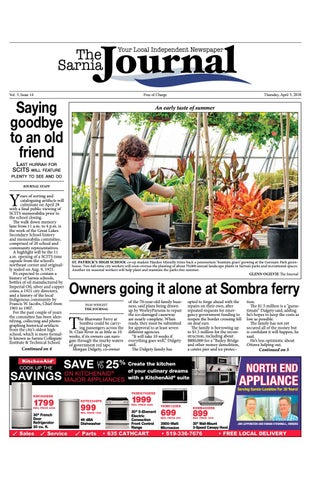 Sarnia Journal - Apr  5, 2018 by The Sarnia Journal - issuu