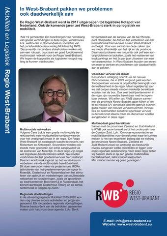 Page 3 of Rabelink Logistics en Regio West-Brabant