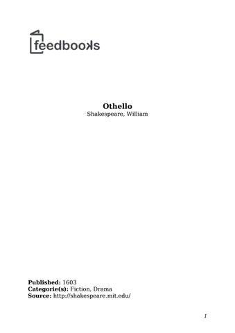 Othello by Tiz1All - issuu