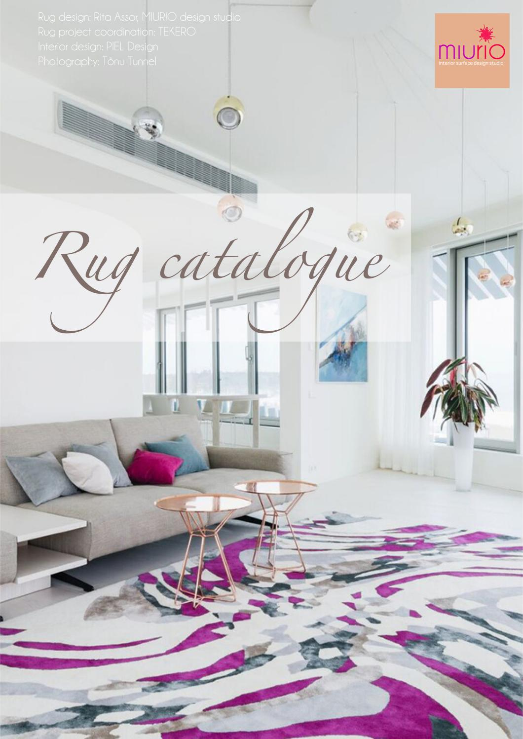 Rug Catalogue By Miurio Decor Issuu