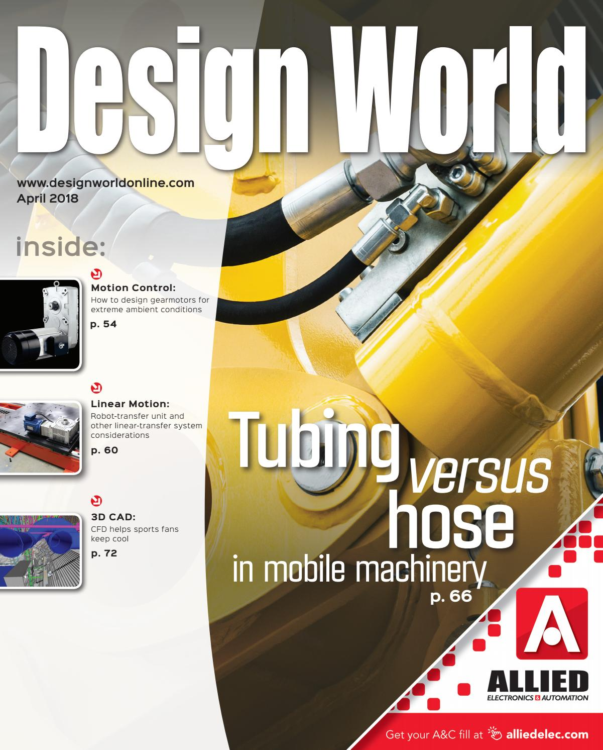 Design World April 2018 By Wtwh Media Llc Issuu Wiring Diagrams Download Pdf 800kb View Online Find Your
