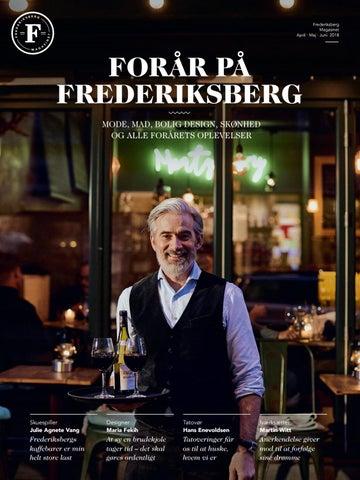 b5ceb26613d2 FREDERIKSBERG MAGASINET Forår 2018 by FREDERIKSBERG MAGASINET - issuu