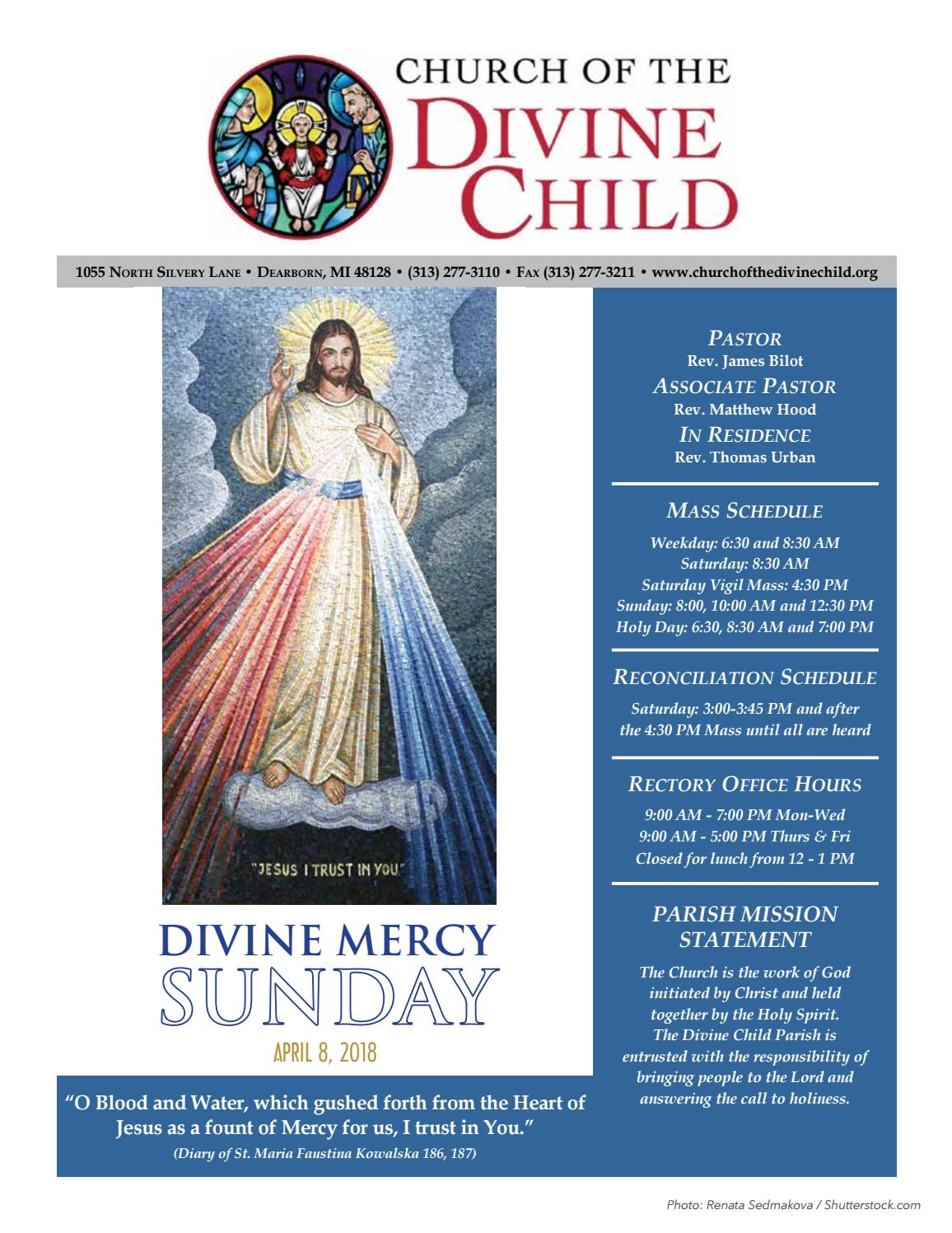 Divine child 4 8 by Church of the Divine Child - issuu