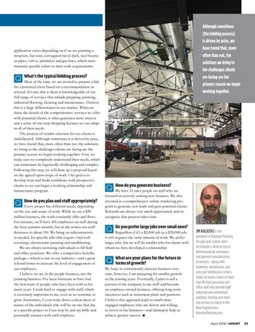Page 33 of Light industrial painter's niche market: commercial manufacturing facilities
