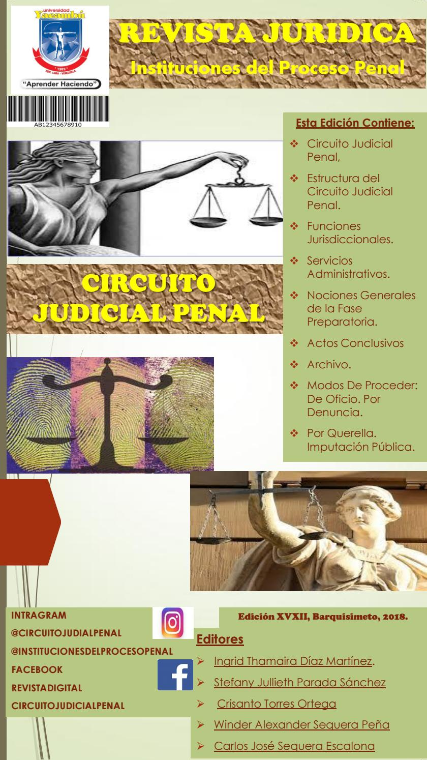 Circuito Judicial Penal : Circuito judicial penal by carlos sequera issuu