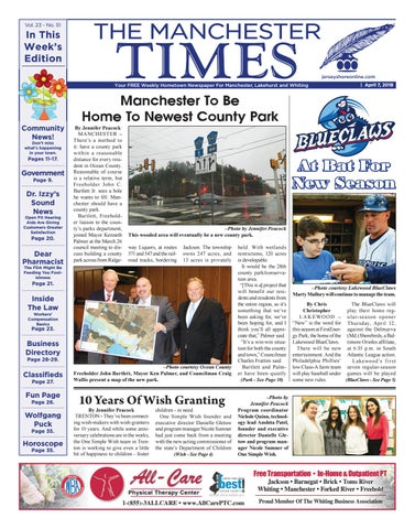 2018 04 07 The Manchester Times By Micromedia Publicationsjersey