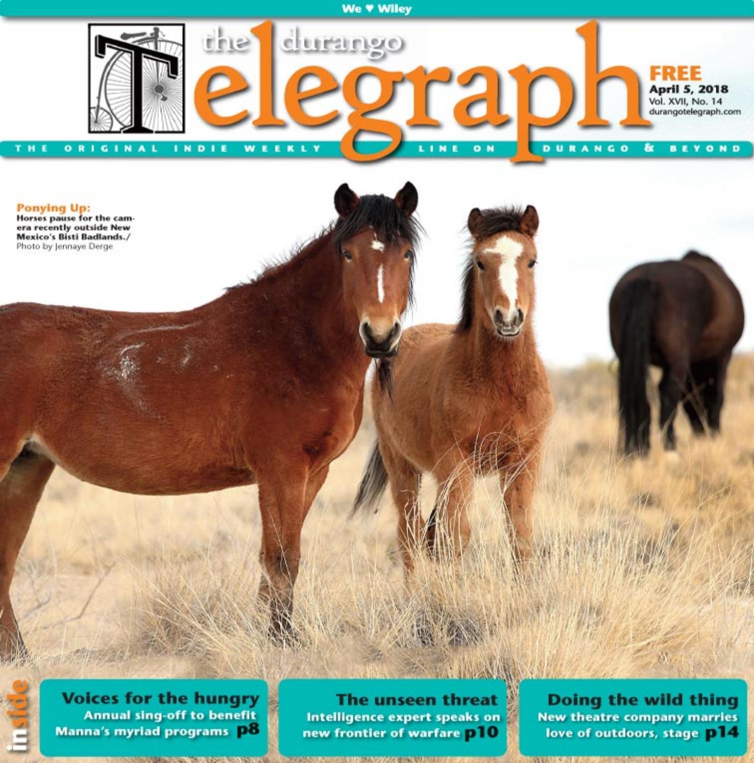 db31a6d0c4e99 Durango Telegraph - April 5, 2018 by Durango Telegraph - issuu