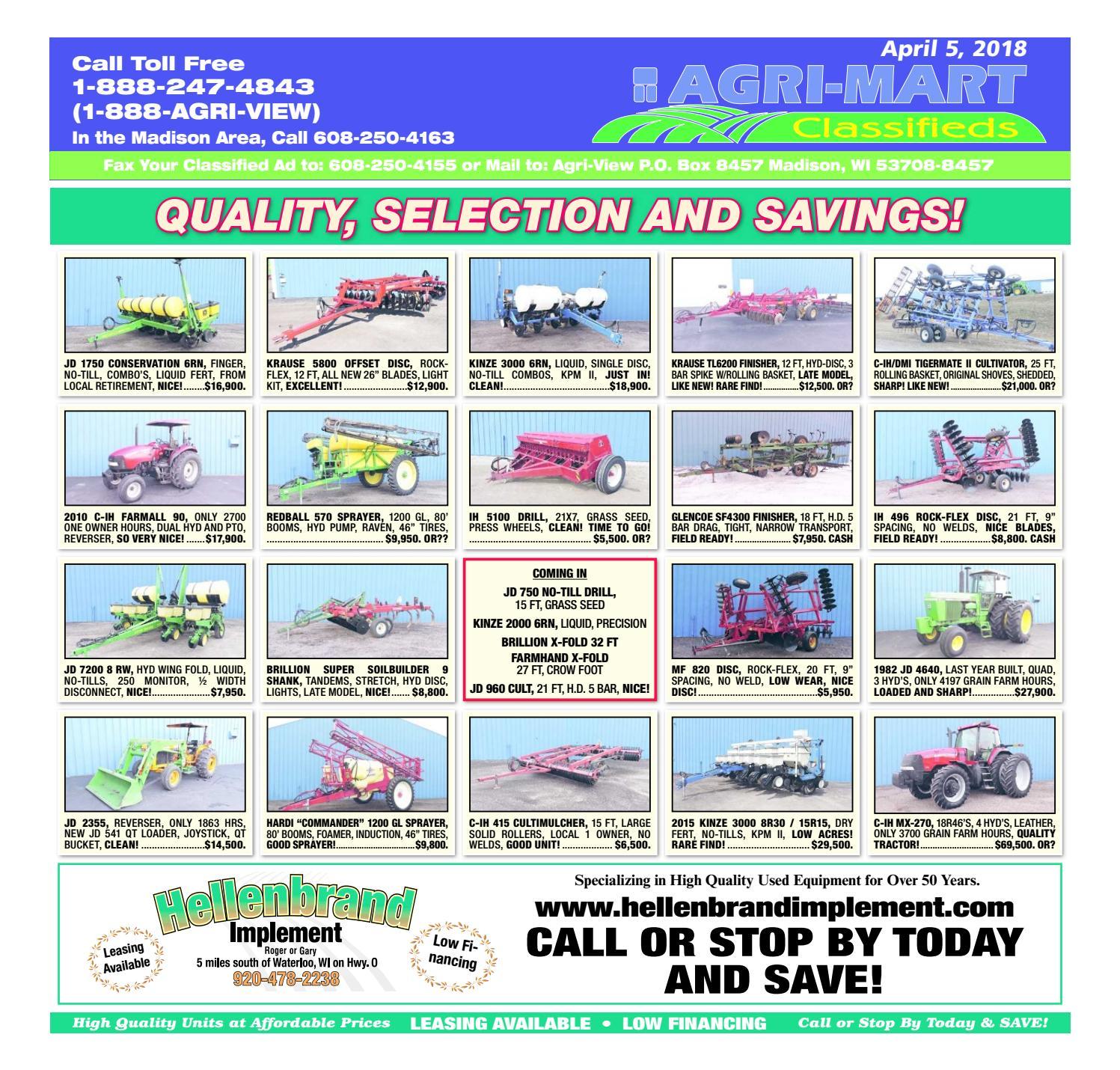 April 5, 2018 Agri-Mart by Madison com - issuu
