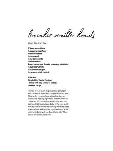 Page 12 of Lavender Vanilla Donuts