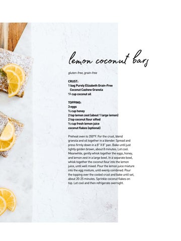 Page 15 of Lemon Coconut Bars