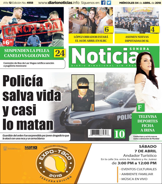 Diario Noticias by Editora Regional de Noticias S de RL - issuu