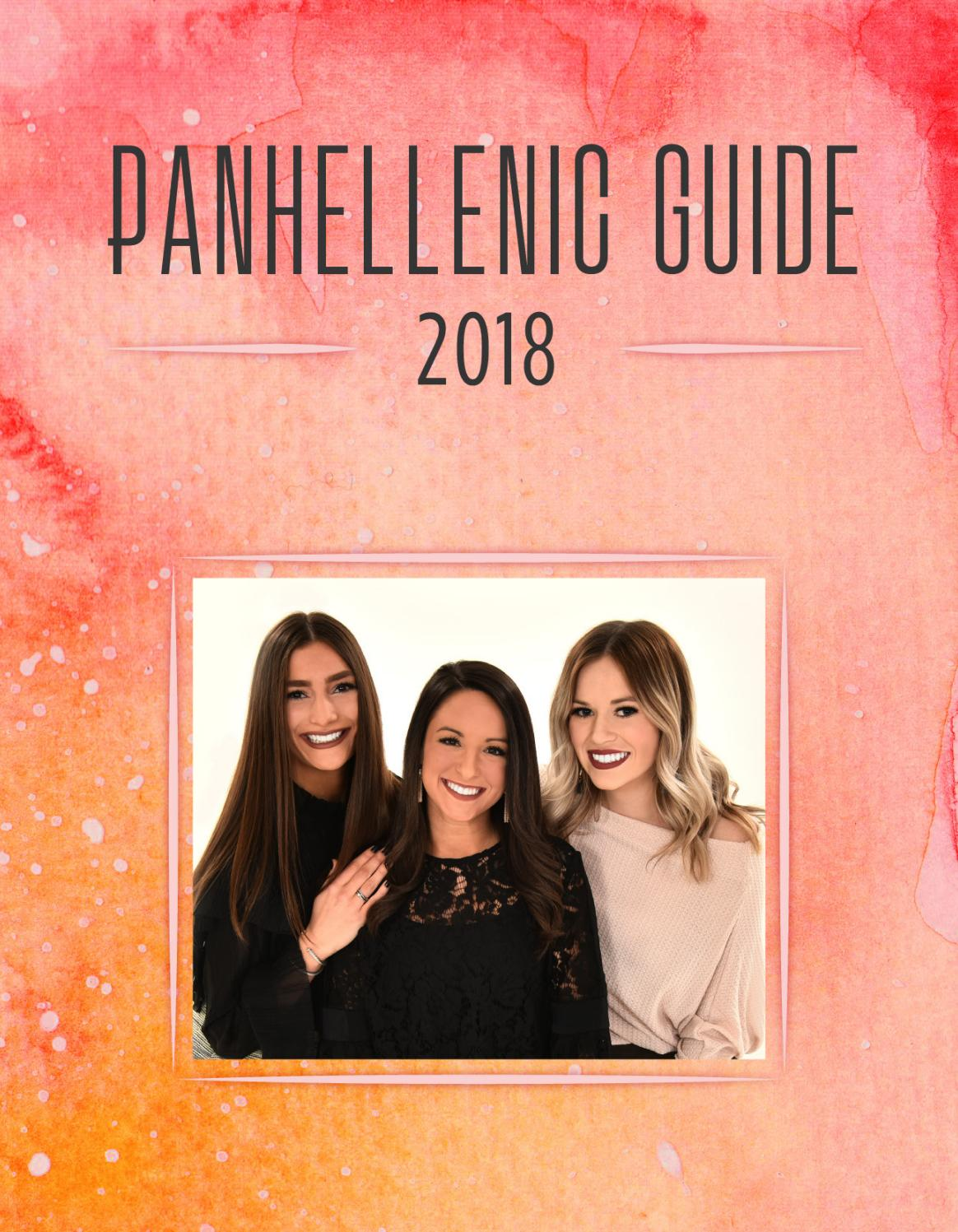 2018 Panhellenic Recruitment Guide by Oklahoma State - issuu